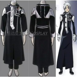 D.Gray-Man Allen Walker Cosplay Kostüme auf Maß Trenchcoat