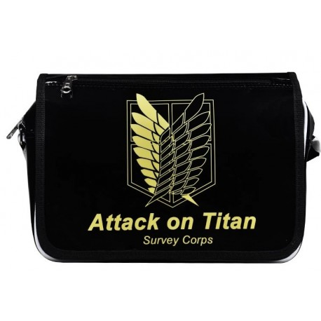 Attack on Titan Ainme Messenger Bag, Messenger Tasche