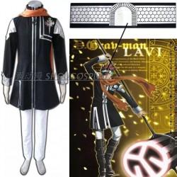 D.Gray-Man Cosplay Kostüm, Lavi.JR.Bookman Cosplay Kostüme auf Maß