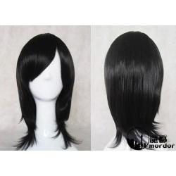 Death Note Kuchiki Rukia schwarze Cosplay Perücke