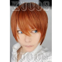 Death Note Killer braune Cosplay Perücke