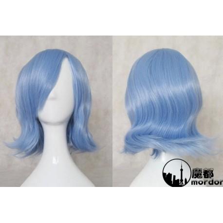 Touhou Project Remilia Scarlet blaue Cosplay Perücke