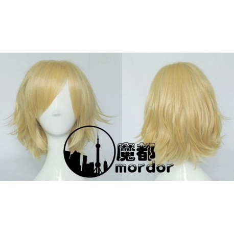 Touhou Project Alice Margatroid blonde Cosplay Perücke