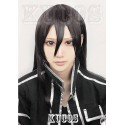 SAO Sword Art Online Kirigaya Kazuto schwarze Cosplay Perücke