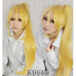 Sword Art Online SAO Kirigaya Suguha blonde Cosplay Perücke wig