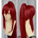 Lucaille® Fairy Tail Cosplay Perücke Elza·Scarlet rote Perücke