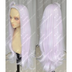 Lucaille® Fairy Tail Cosplay Perücke Mirajane·Strauss weiße rosa Perücke