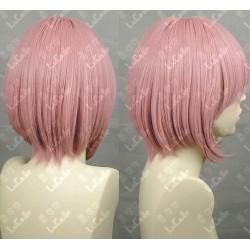 Lucaille® Fairy Tail Cosplay Perücke rosa Anime Perücke