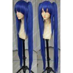 Lucaille® Fairy Tail Cosplay Perücke Wendy Marvell dunkelblaue Perücke