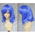 Lucaille® Fairy Tail Cosplay Perücke Juvia Loxar blaue locken Perücke