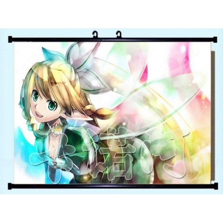 Sword Art Online Kirigaya Suguha Anime Stoffposter Wallscroll Poster Wallscrolls