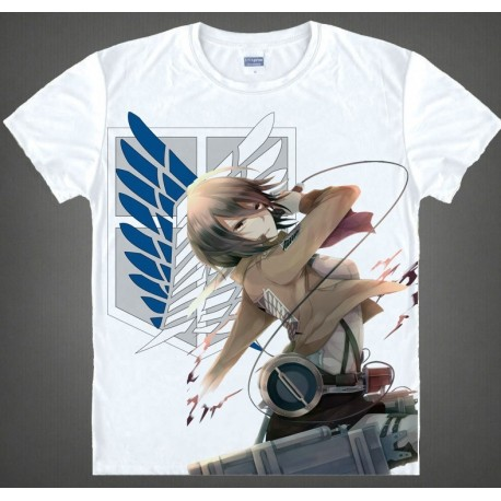 Attack on Titan Shirt, Shingeki no Kyojin shirt, Mikasa T-Shirt