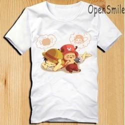 One Piece T-Shirts, Chopper& Luffy T-Shirt