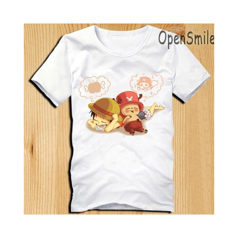One Piece T Shirts Chopper Luffy T Shirt Anime T Shirt Manga T Shirt