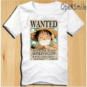 One Piece T-Shirts, One Piece Luffy Wanted T-Shirt