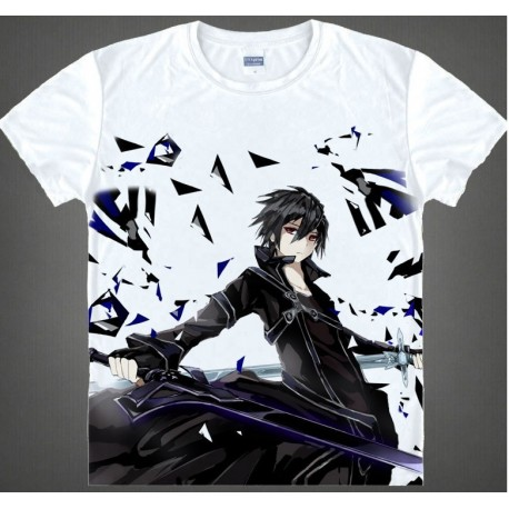 Sword Art Online T-Shirts, Kirito T-Shirt