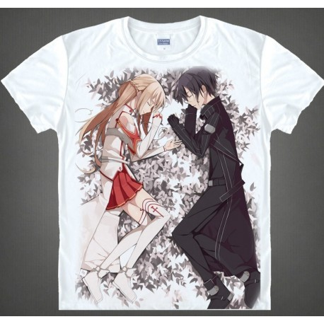 Sword Art Online T-Shirts, Kirito& Asuna T-Shirt