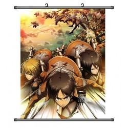 Attack on Titan Anime Stoffposter Wallscroll Poster Wallscrolls