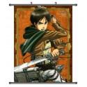 Attack on Titan Eren Anime Stoffposter Wallscroll Poster Wallscrolls