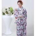 Kimono Yukata Furisode Geisha Kimono Japan Satin Kimono