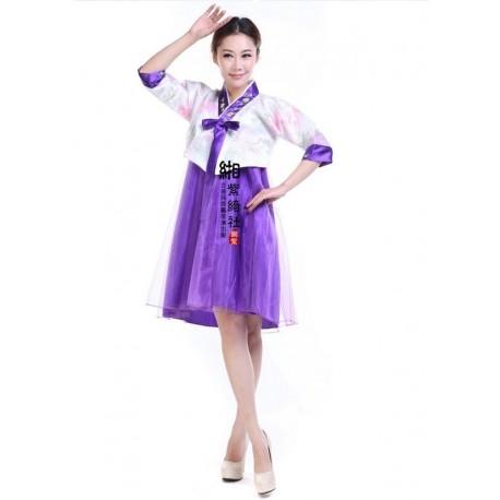 Koreanische Tracht Hanbok traditionelle koreanische Kleidung