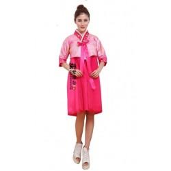 Koreanische Tracht Hanbok Korea Kleidung kurzes Kleid