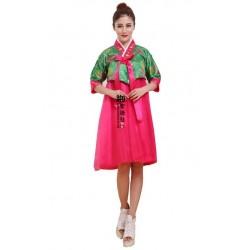 Koreanische Tracht Hanbok koreanische Kleidung kurzes Kleid