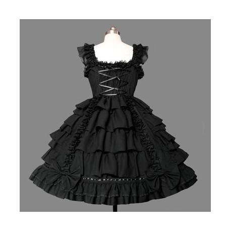 Lolita Kleid Bühnenoutfits Prinzessin Kleid Kawaii Kleid Maid Kostüme Cosplay Kostüme auf Maß