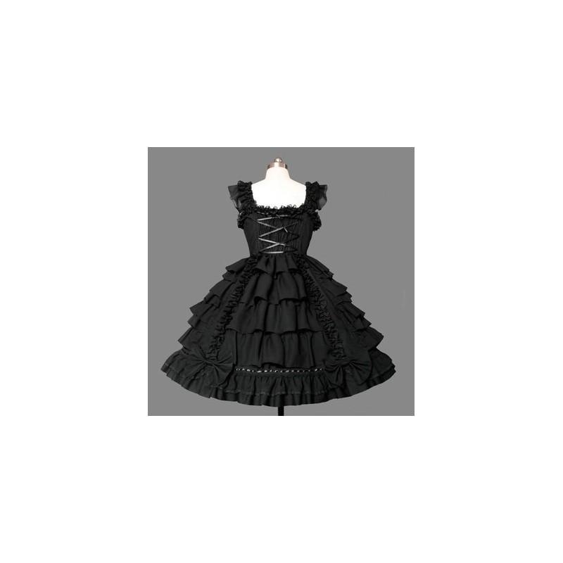 Lolita Kleid Bühnenoutfits Prinzessin Kleid Kawaii Kleid Maid Kostüme