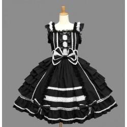 Lolita Kleider Kawaii Chiffon Spitze Prinzessin Kleid Cosplay Kostüme auf Maß