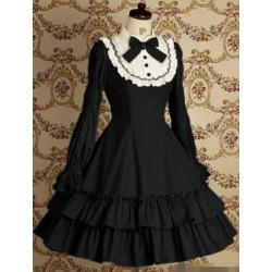 Lolita Kleid Vintage Spitze Prinzessin Kleid Bühnenoutfits Cosplay Kostüme
