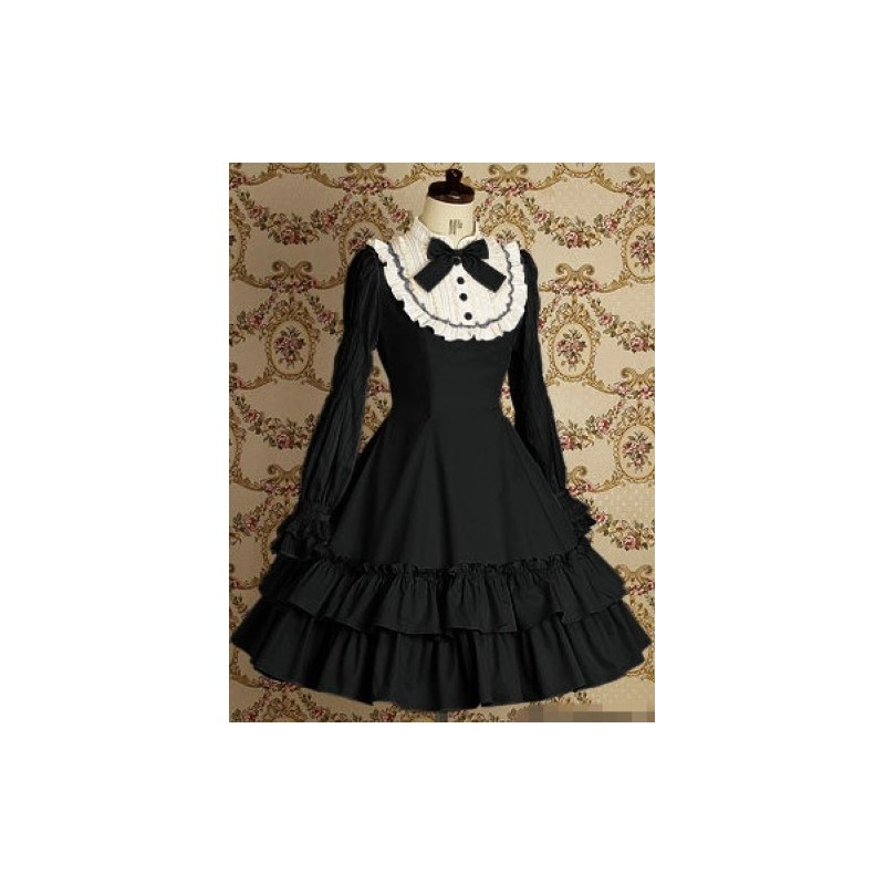 lolita kleid vintage spitze prinzessin kleid b hnenoutfits. Black Bedroom Furniture Sets. Home Design Ideas