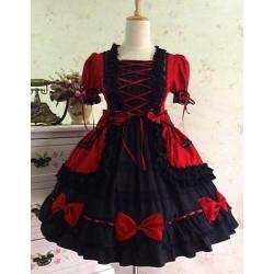 Lolita Kleid Prinzessin Kleid Gothic Vintage Cosplay Kostüme