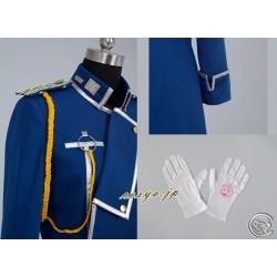 Fullmetal Alchemist Cosplay Kostüm Roy·Mustang Kostüme Militärische Uniformen