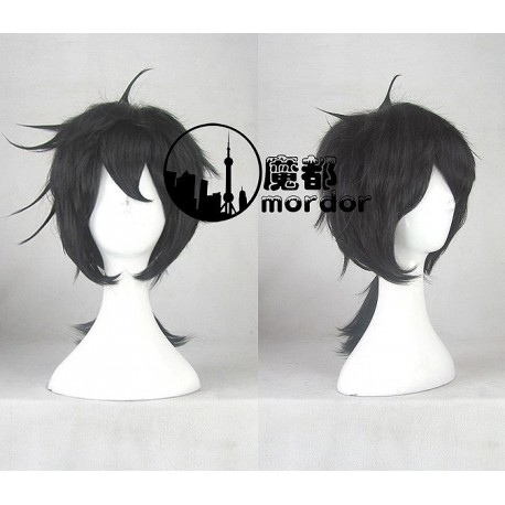 Kagerou Project Konoha schwarze Cosplay Perücke