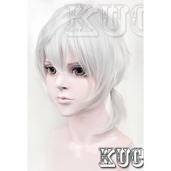 Kagerou Project Konoha weiße Cosplay Perücke