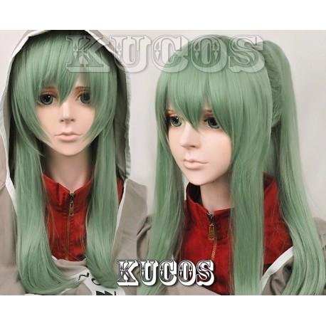 Kagerou Project Kido grüne Cosplay Perücke
