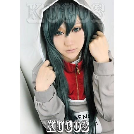 Kagerou Project Kido dunkelgrüne Cosplay Perücke
