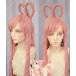 Lucaille®-One Piece Perücke Cosplay Shirahoshi rosa Perücke