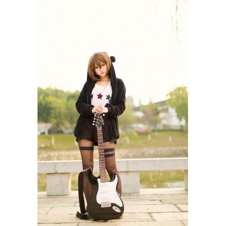 K-On! Cosplay Kostüm K-On! Kawaii Overall Shirt Hoodie Girl