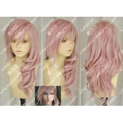 Lucaille®-Final Fantasy 13 Perücke Cosplay Lightning rosa locken Perücke