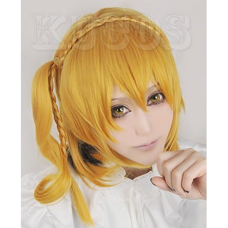 Kagerou Project MOMO blonde Cosplay Perücke