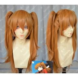 Lucaille® EVA Neon Genesis Evangelion Perücke Cospaly Asuka orange Perücke