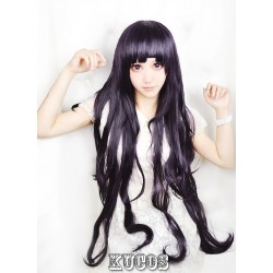 Danganronpa 2 Cosplay Perücke Tsumiki Mikan lila locken Game Haare