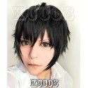 Kagerou Project Kisaragi Shintaro schwarze Cosplay Perücke