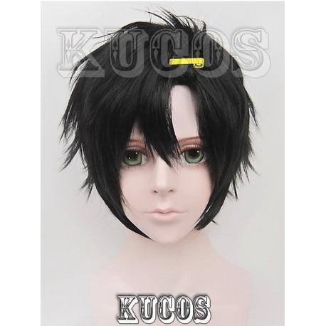 Kagerou Project Seto Kōsuke schwarze Cosplay Perücke