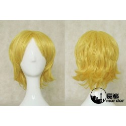 Pandora Hearts Oz.vessalius blonde Cosplay Perücke