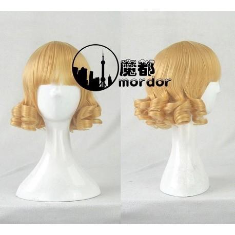 Rozen Maiden Lapislazuli Stern blonde gelbe Cosplay Perücke