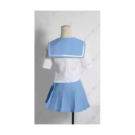 Kill La Kill Cosplay Kostüm, Mako Mankanshoku Cosplay Kostüme auf Maß Uniform