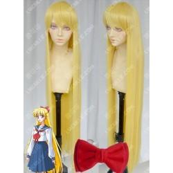 Lucaille® Sailor Moon Cosplay Perücke Minako Aino blonde Anime Perücke
